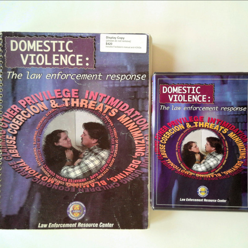 domestic violence  the law enforcement response curriculum